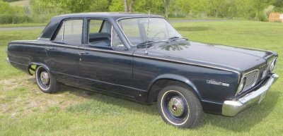 1966 Plymouth Valiant Image 1
