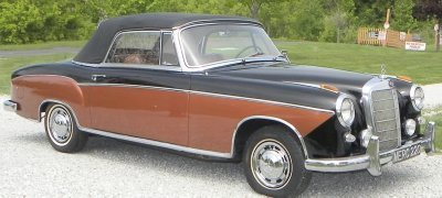 1959 Mercedes-Benz 220 S Image 1
