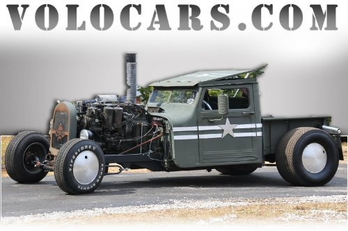 1959 Willys Rat Rod Image 1
