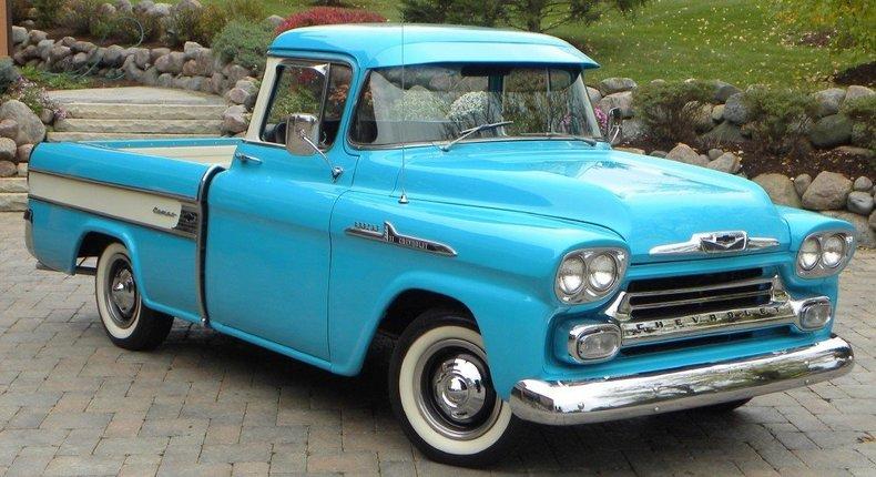 1958 Chevrolet Apache Cameo Image 3