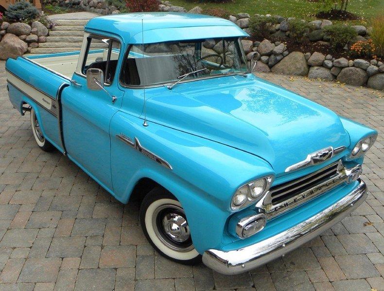 1958 Chevrolet Apache Cameo Image 8