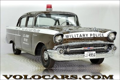 1957 Chevrolet Police Car Image 1