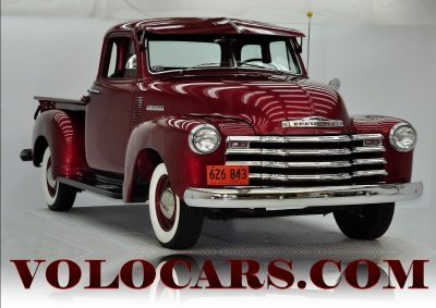 1952 Chevrolet 5 Window Truck Image 1