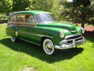 1951 Chevrolet Woody Wagon Image 1