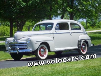 1947 Ford 2 Dr Sedan Image 1