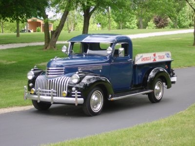 1946 Chevrolet Model Dp Truck Image 1