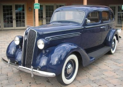 1936 Plymouth P2 6