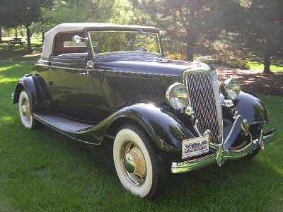 1934 Ford 40 Cabriolet Image 1