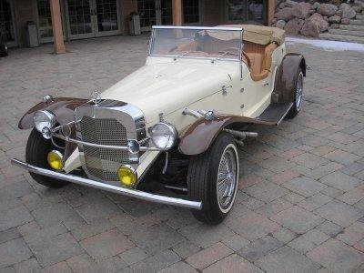 1929 Mercedes-Benz Ssk Image 1
