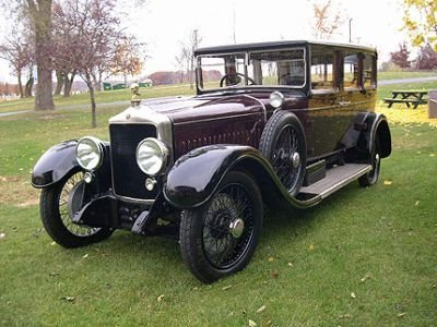 1925 Minerva Type Af 7 Passenger Limo Image 1