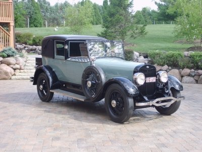 1925 Lincoln Town Car Image 1