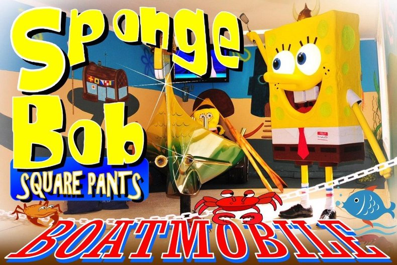 1975 Boatmobile Sponge Bob Square Pants