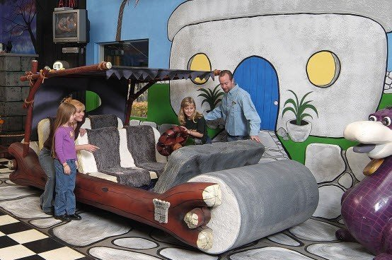1994 Flintmobile Fred Flintstones Car