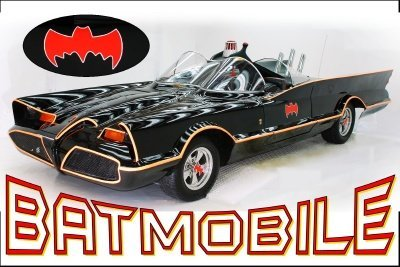 1966 Batmobile Tv Series Car