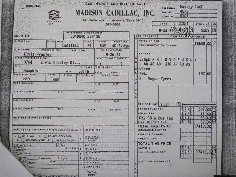 1974 Cadillac deVille Image 4