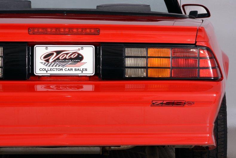 1991 Chevrolet Camaro Image 35