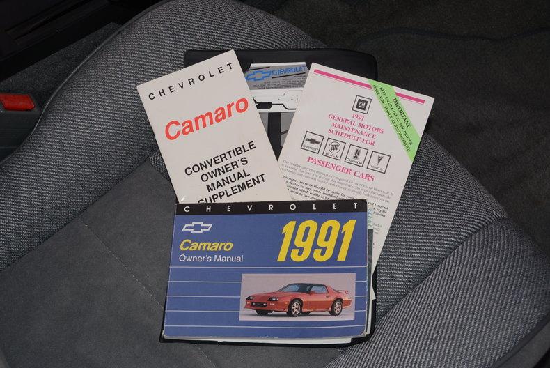 1991 Chevrolet Camaro Image 53