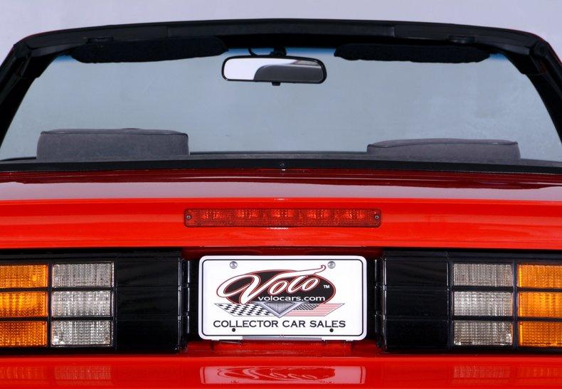 1991 Chevrolet Camaro Image 57