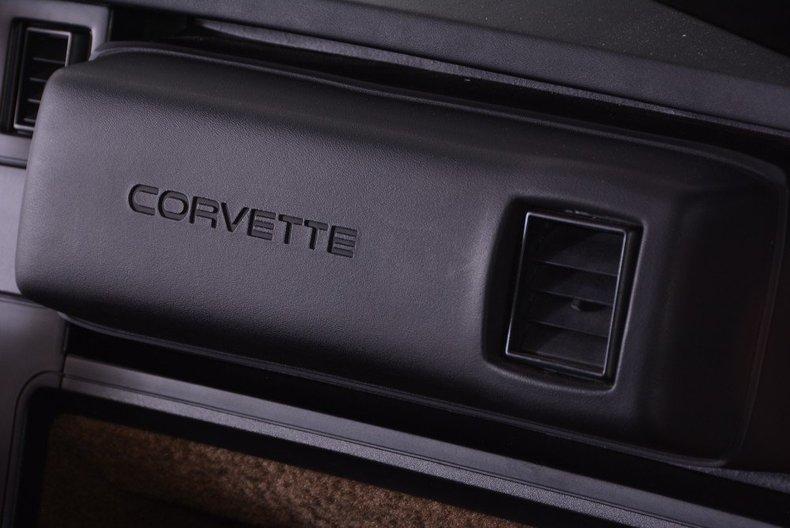 1987 Chevrolet Corvette Image 50