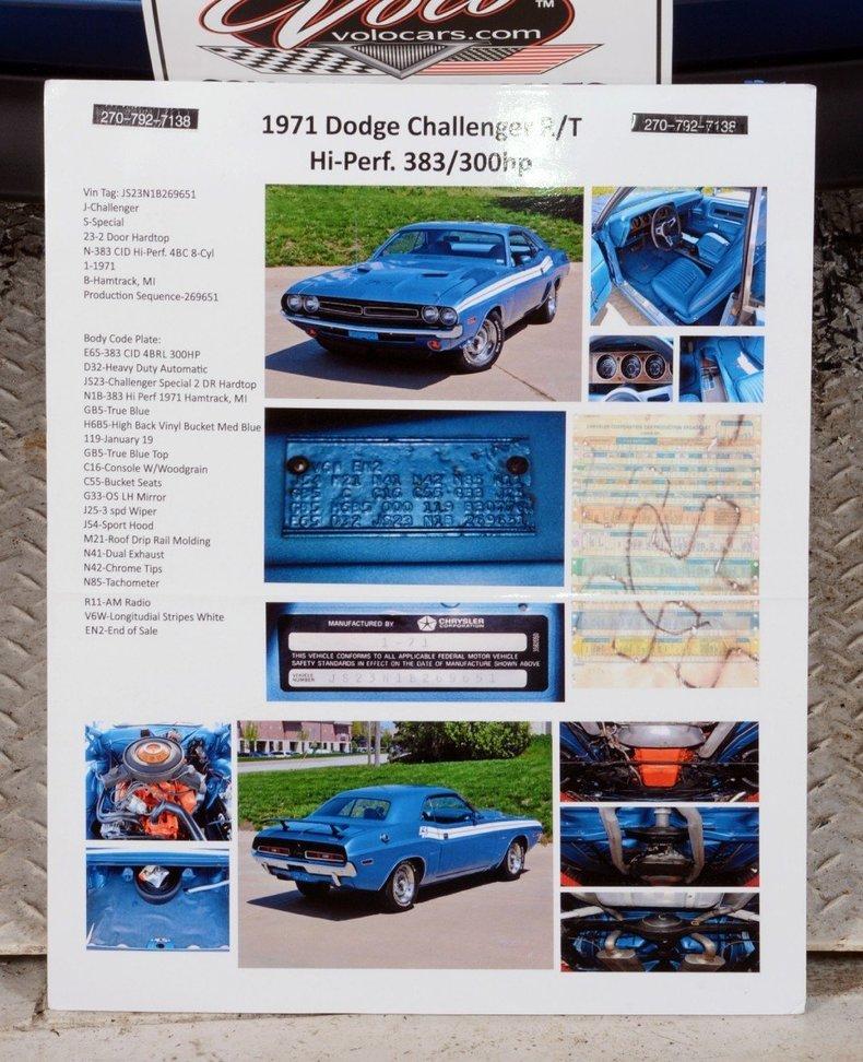 1971 Dodge Challenger Image 55