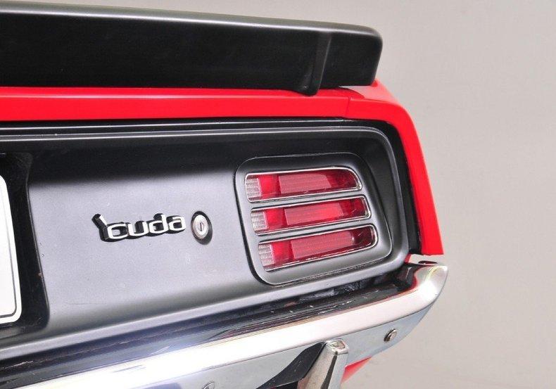 1970 Plymouth Cuda Image 13