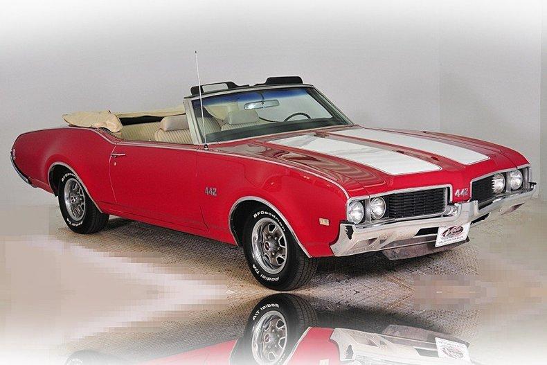 1969 Oldsmobile 442 Image 16