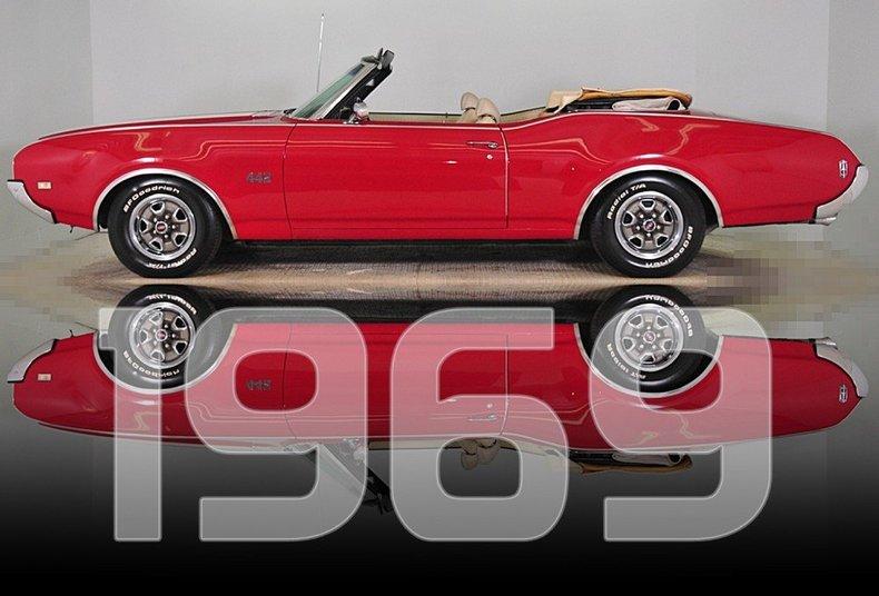 1969 Oldsmobile 442 Image 39