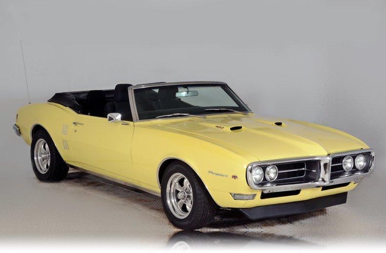 1968 Pontiac Firebird Image 63