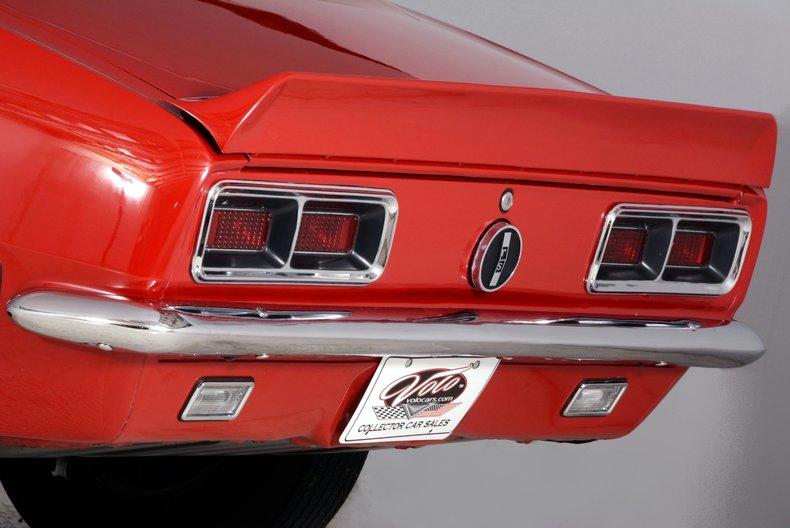 1968 Chevrolet Camaro Image 57
