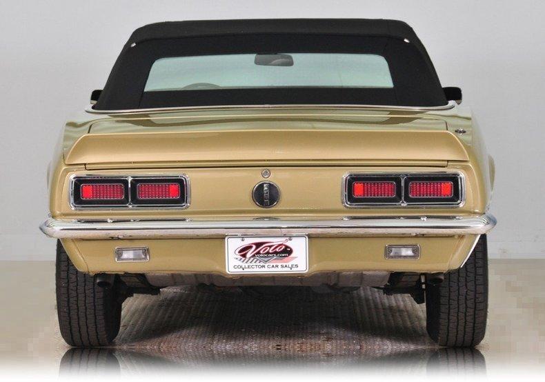 1968 Chevrolet Camaro Image 16