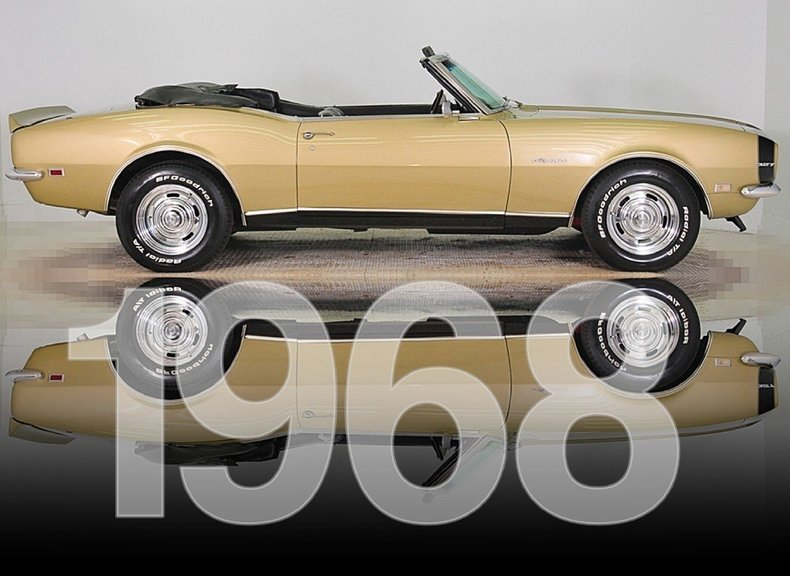 1968 Chevrolet Camaro Image 44