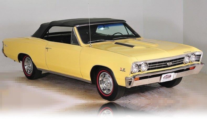 1967 Chevrolet Chevelle Image 71