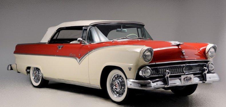 1955 Ford Sunliner Image 125