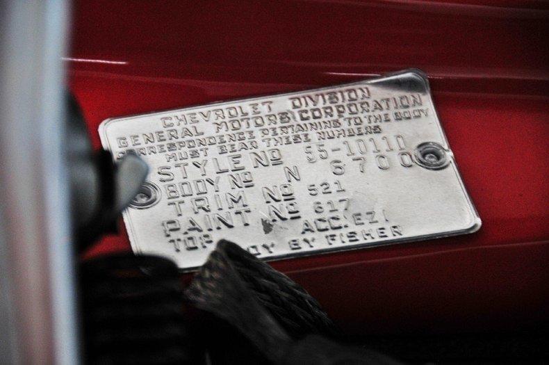 1955 Chevrolet Bel Air Image 55