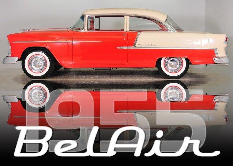 1955 Chevrolet Bel Air Image 67
