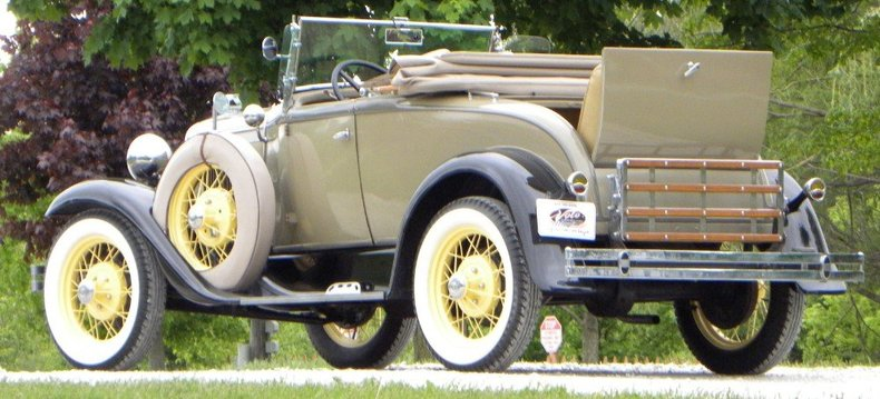 1931 Ford Model A Image 88