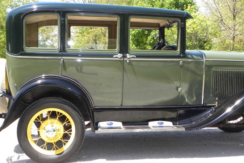 1930 A model ford color options