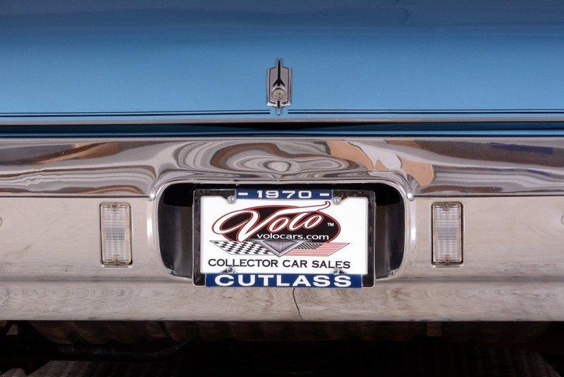 1970 Oldsmobile Cutlass Image 56