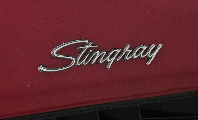 1972 Chevrolet Corvette Image 54