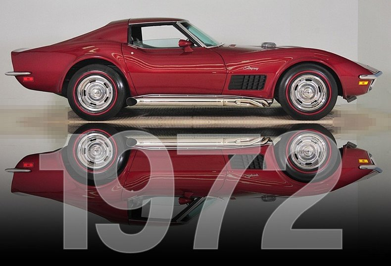 1972 Chevrolet Corvette Image 55