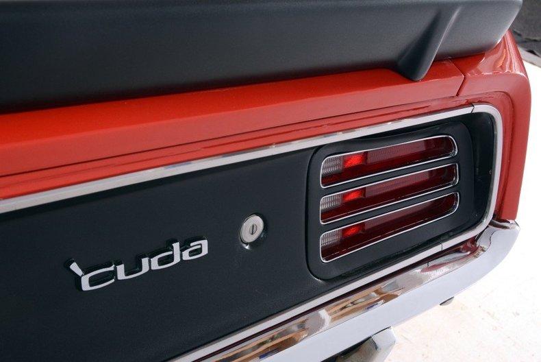 1970 Plymouth Cuda Image 46
