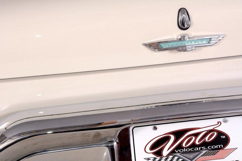 1957 Ford Thunderbird Image 81