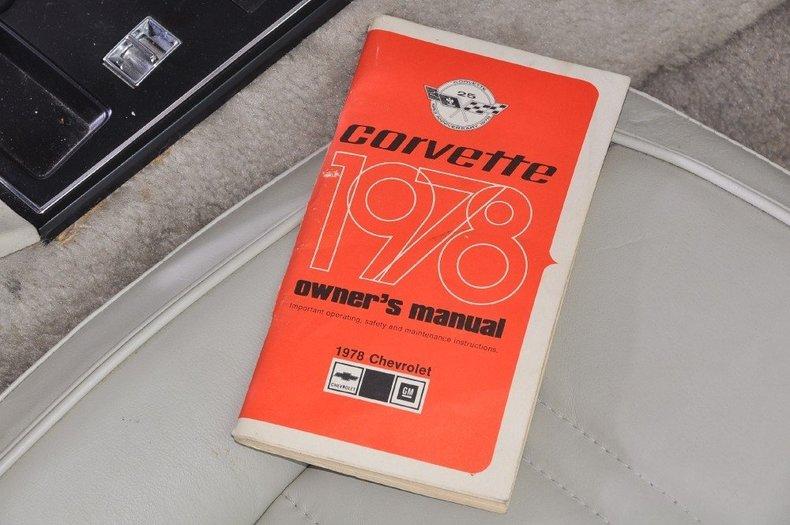 1978 Chevrolet Corvette Image 44