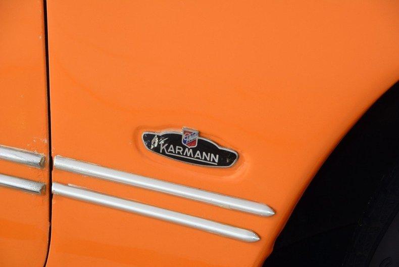 1973 Volkswagen Karmann Ghia Image 9