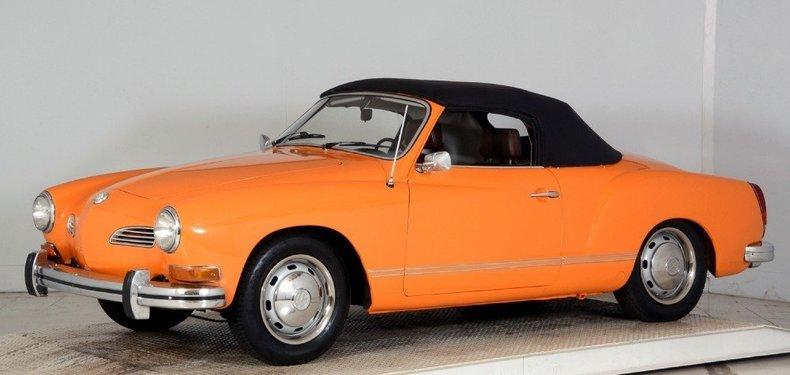 1973 Volkswagen Karmann Ghia Image 20