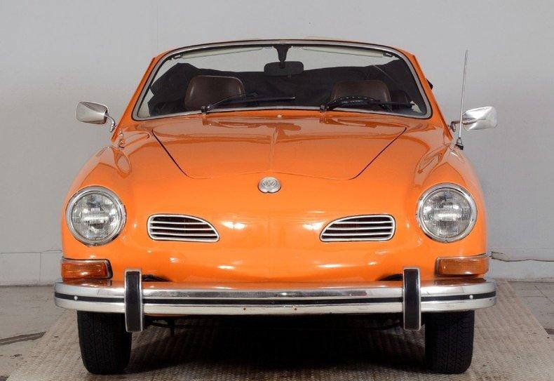 1973 Volkswagen Karmann Ghia Image 25