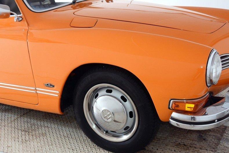 1973 Volkswagen Karmann Ghia Image 27