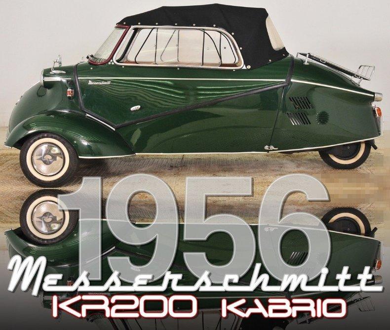 1956 Messerschmitt KR200 Image 28