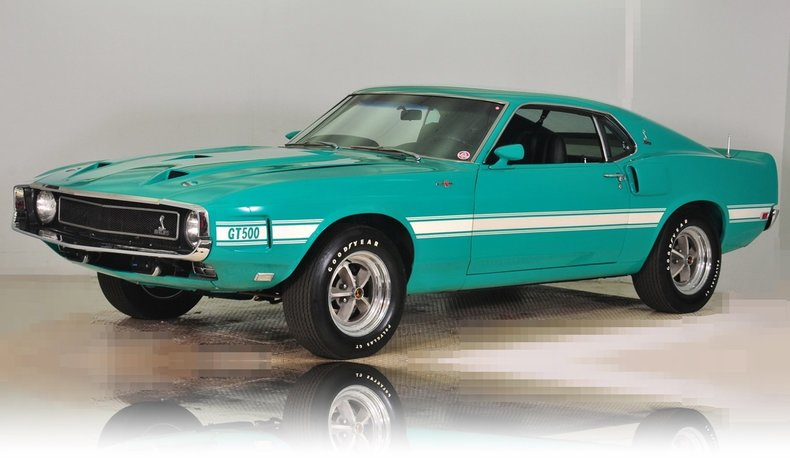1969 Shelby GT500 Image 34