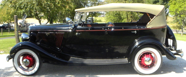 1934 Ford Model 40 Image 6